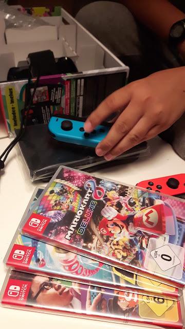 Testpaket: Nintendo Switch mit Spielen