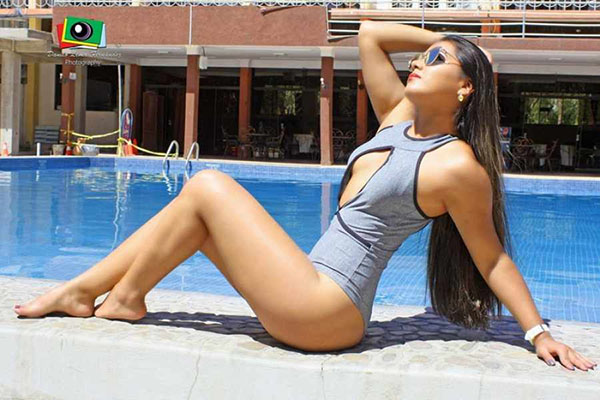 Mariela Fernández rumbo al Miss Potosí 2018