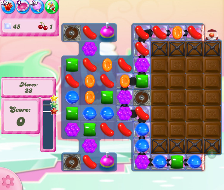 Candy Crush Saga level 2809