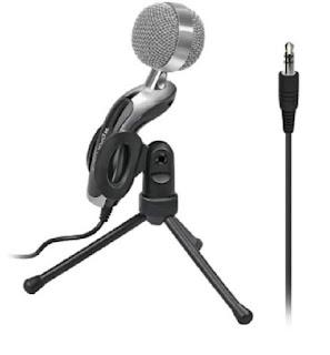 ميكروفون مكتبي من بروميت  USB  3.5 مم  مكثف صوت بسعر 214 جنية مصري