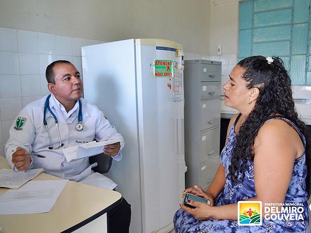 Médico inicia atendimento no Posto de Saúde do Distrito Sinimbu no 1º dia do Governo em Ação em Delmiro Gouveia
