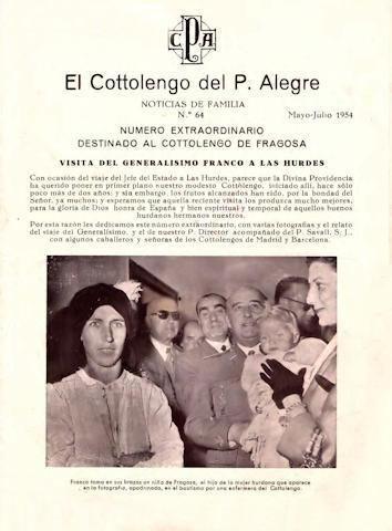 Número extraordinario dedicado al Cottolengo de Fragosa y la visita de Franco a las Hurdes.