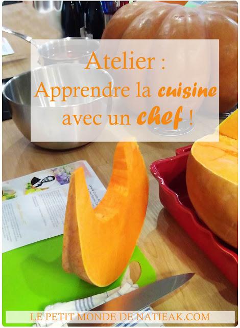 apprendre à cuisiner avec un chef à l'Atelier culinaire Cuisine AD