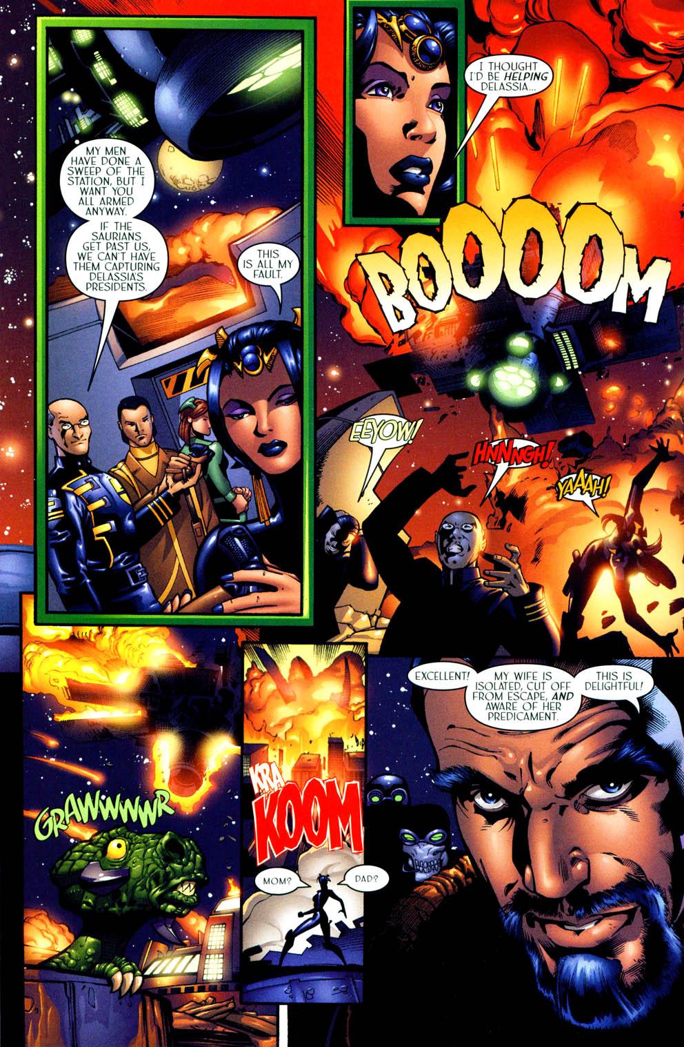 Read online Sigil (2000) comic -  Issue #11 - 7