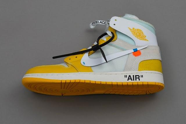 """Se rumorea que el Off-White ™ x Air Jordan 1 """"Canary Yellow"""" se lanzará el próximo año"""