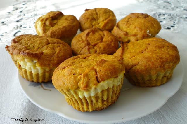 Zdrowe muffinki dyniowe