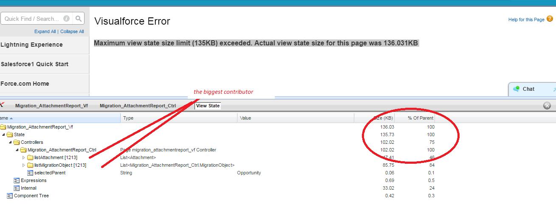 shelovestocode♥: Visualforce error : Maximum view state