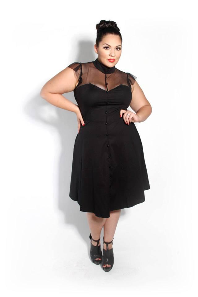 Andrea The Seeker July 2013 Curvy Girl Fashion