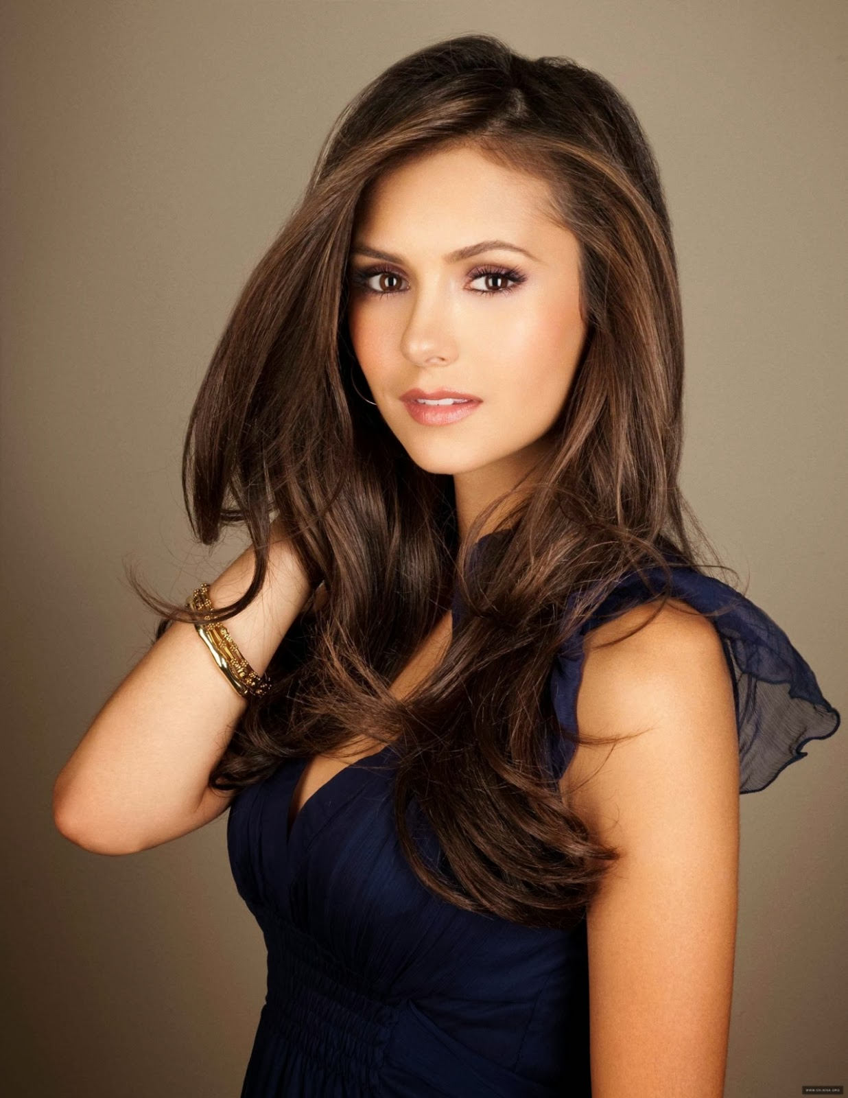 hairstyle Nina Dobrev leaked as the vampire diaries elena
