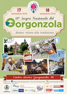 Sagra Nazionale del Gorgonzola 17-18 Settembre Gorgonzola (MI)