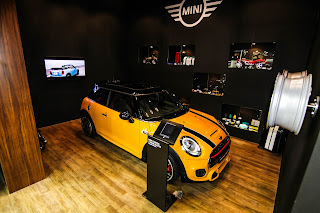 Cooper Mini at Qatar Motor Show 2017