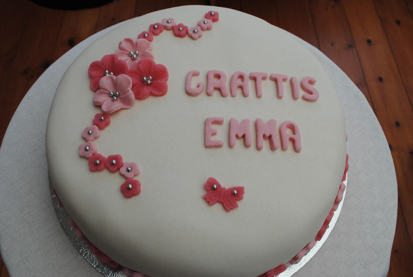 grattis emma Viktorias Bakverk: Emmas födelsdag grattis emma