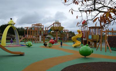 Angry Birds Outdoor play area Lightwater Valley Theme Park
