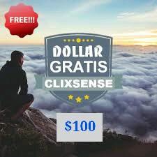 100 Dollar bukti pembayaran dari GPT ClixSense terbaru