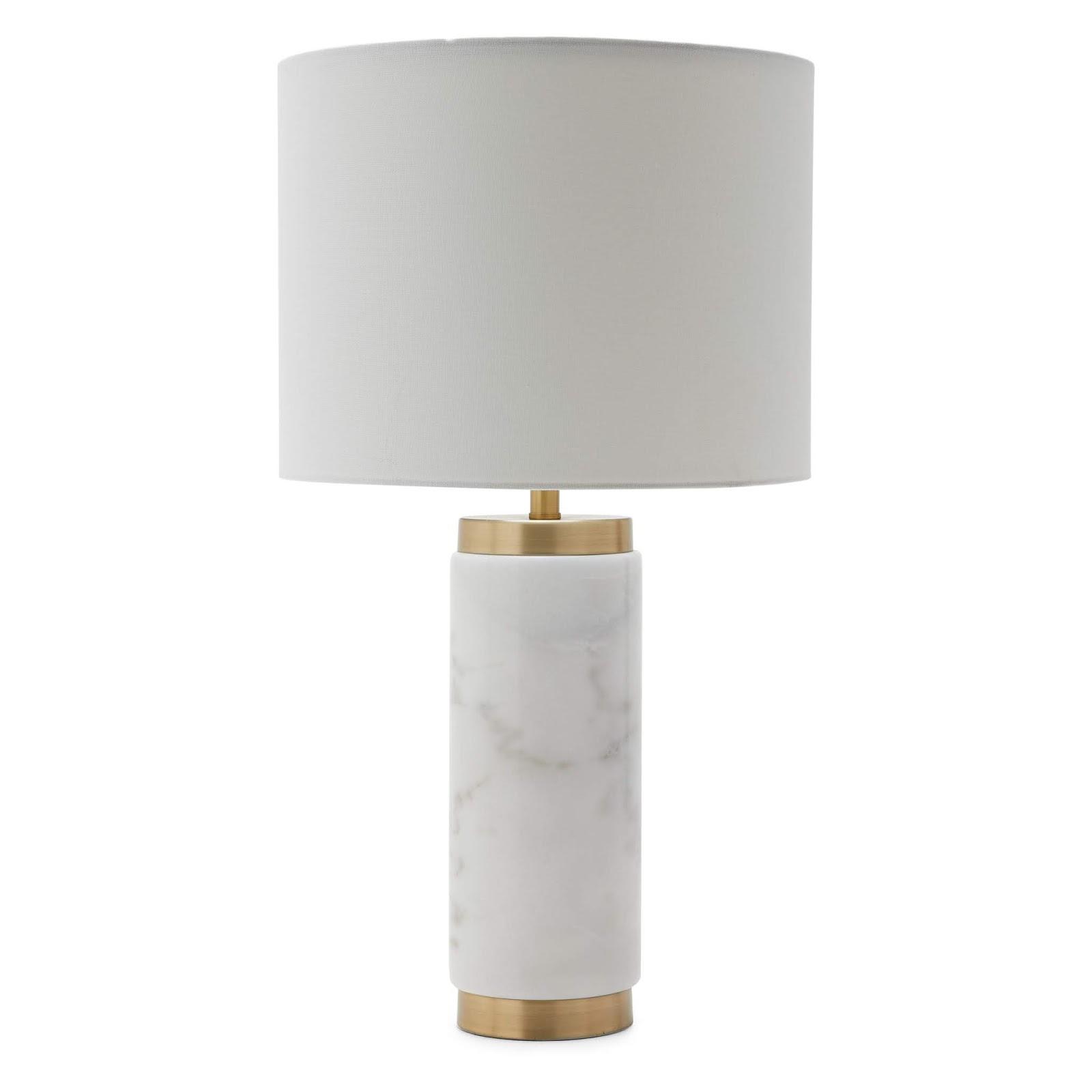 Modern marble lamp from Walmart