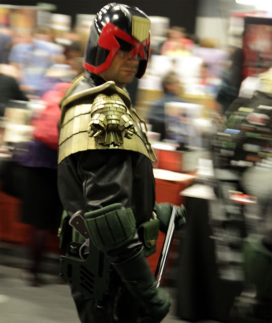 I am the law judge dredd