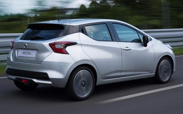 Novo Nissan March (Micra) 2017