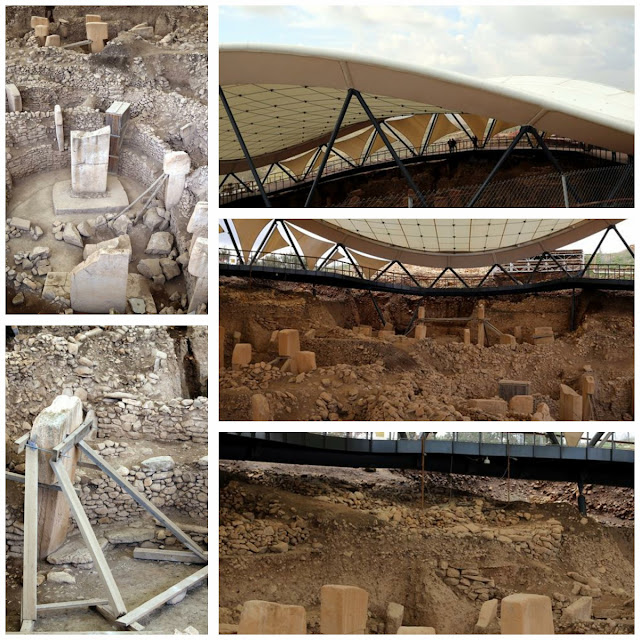 Concrete poured on world's oldest temple Göbeklitepe