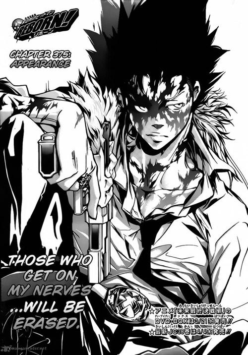 Anime Jokes Collection Hitman Reborn Manga 375 Appearance