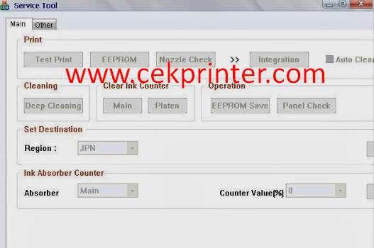 download service tool v3400