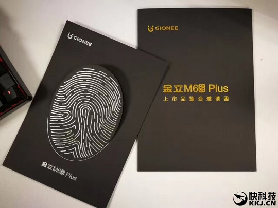 Gionee M6S Plus with 6GB RAM and 6020mAh Battery Set for an April 24 Launch