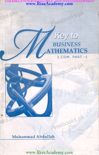 Key Book for Business Mathematics for I.COM Part 1
