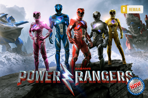 Film Power Rangers Bioskop