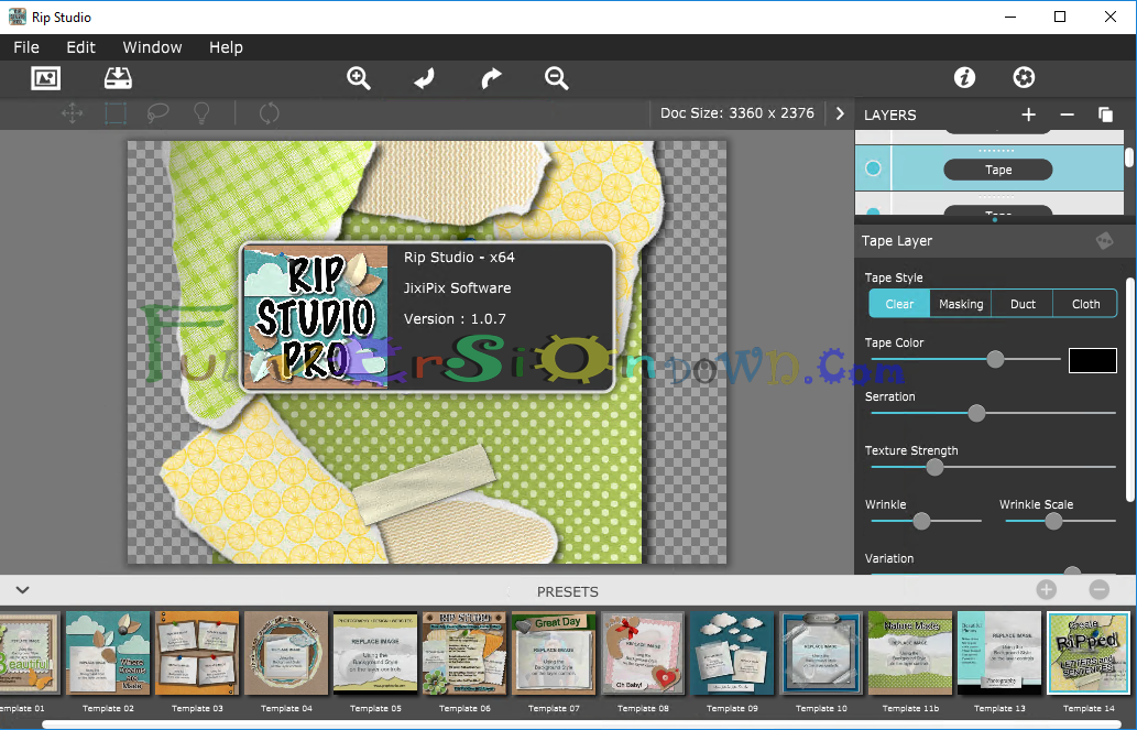 JixiPix Rip Studio Pro 1.0.7 Full Version