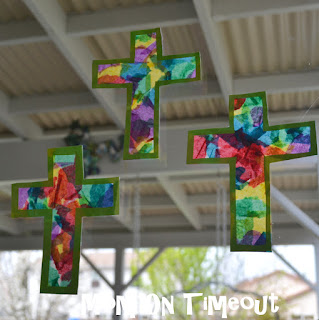 Stained Glass Cross Craft Mom On Timeout