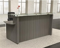 Driftwood Reception Desk