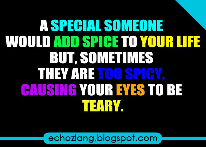 A special someone would add spice to your life