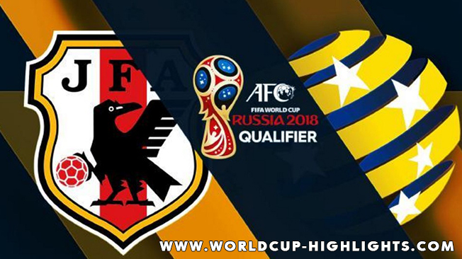FIFA WORLD CUP 2018 - QUALIFICATIONS - JAPAN