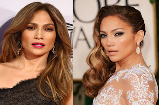 jennifer lopez hair ondulado