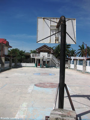 Basketball court on Malapascua, Philippines