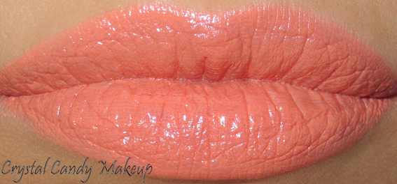 Rouge à lèvres Sushi Kiss de MAC (Collection All About Orange) - Review - Swatch