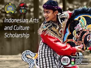 Beasiswa dari kementerian Luar Negeri: Indonesian Arts and Culture Scholarship
