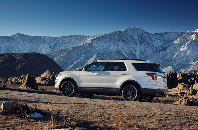 2017 Ford Explorer XLT Sport white