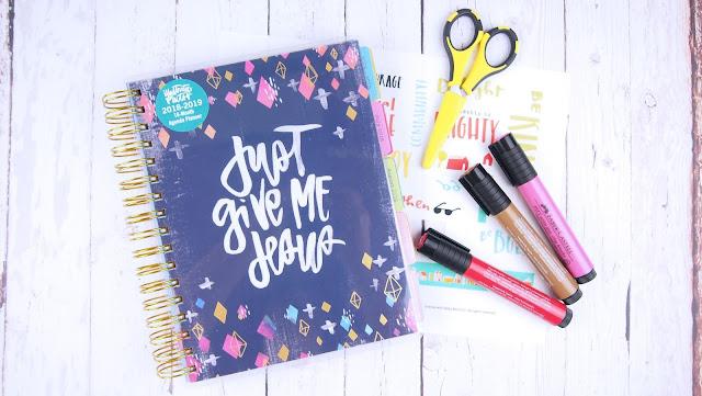 Heather's Hobbie Haven - Illustrated Faith 2018-2019 Agenda Planner