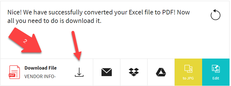 Excel to Pdf Convert -How to Convert Excel File Document