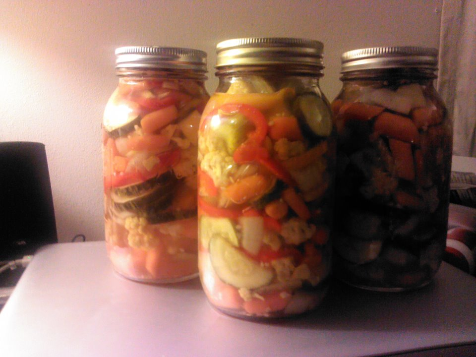 Classic Canning At It S Best Jardiniere Giardiniera Canning