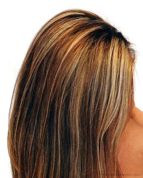Black Hair Color: Brown Hair Highlight Ideas