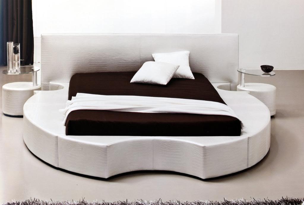 Divano letto moderno con testate