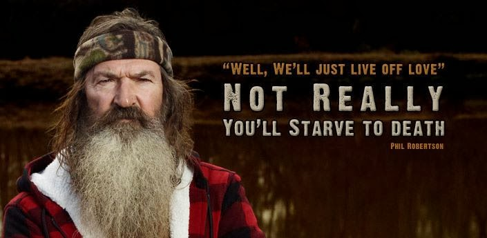 Love Knows No Color Quotes: The Best Of Phil Robertson's Quotes/Sayings