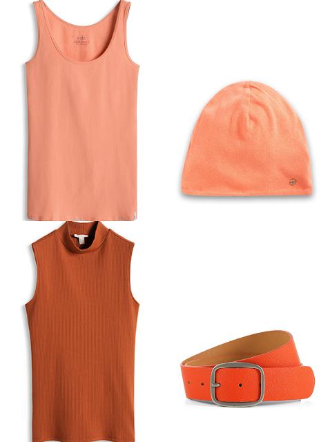 tendencias entretiempo esprit color naranja