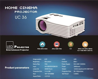proiettore wifi uc36