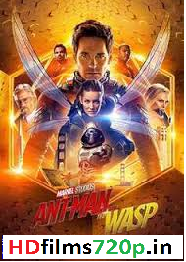 Ant-Man and the Wasp 2018 Full Movie [Hindi-English] Dual Audio HDTS
