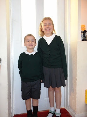Top Ender and Big Boy on the First Day of School 2012