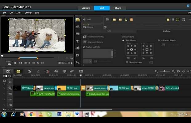 Corel Video Studio Software Edit Video Terbaik Untuk PC Terbaru 2019