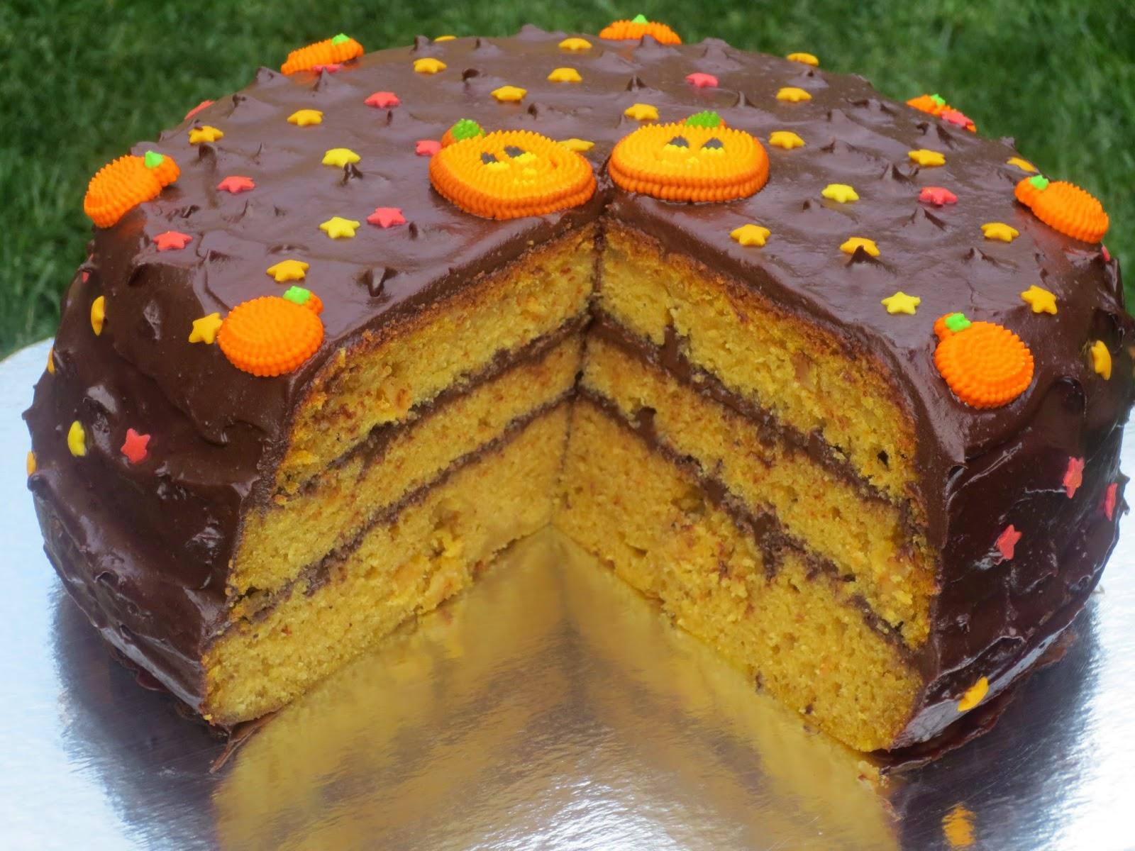 Bizcocho calabaza cake olla GM