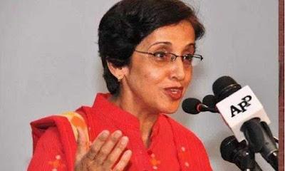 तहमीना जांजुआ बनीं पाकिस्तान की पहली महिला विदेश सचिव